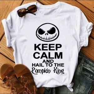 Keep calm and hail to the pumpkin king